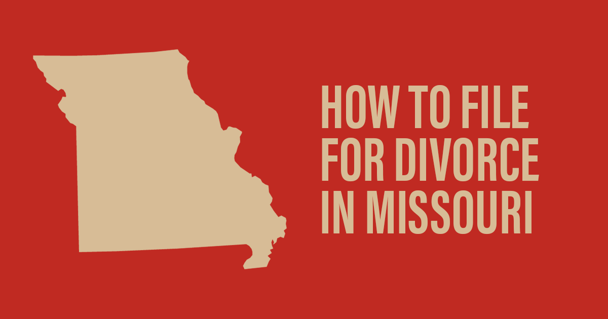 How to File for Divorce in Missouri | Suddarth and Koor LLC