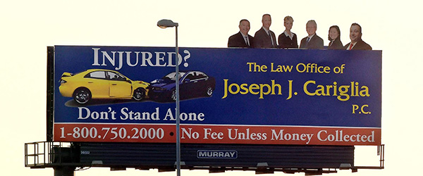 Personal Injury Law Firm Sues Competitor Over Billboard